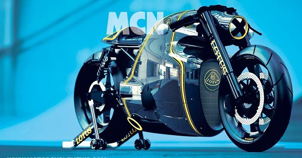 Lotus s'essaierait à la moto extrême
