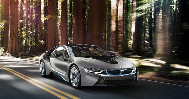 BMW réalise une i8 sur-mesure pour Pebble Beach