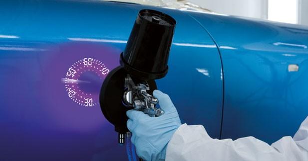 Une peinture à séchage par UV qui réduit le CO2