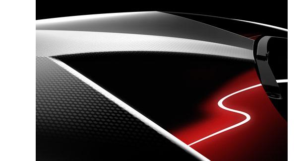 Teaser Lamborghini pour le Mondial
