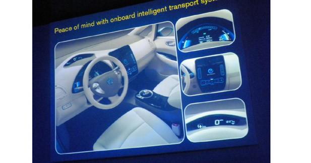 Nissan Leaf : une électrique intelligente et communicante