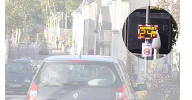Les radars pédagogiques insuffisants pour 40 millions d'automobilistes