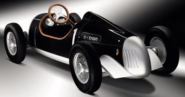 Audi va exposer une e-Tron miniature à une foire aux jouets