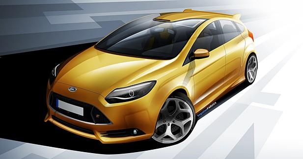 La Ford Focus ST restylée se montrera à Goodwood