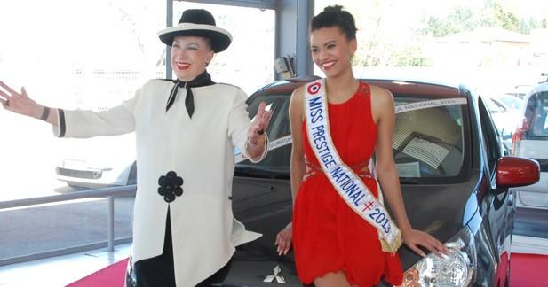 Miss Prestige National roule en Mitsubishi Space Star