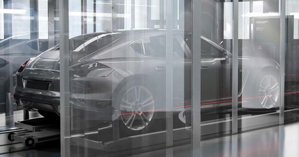On reparle d'une mini Panamera chez Porsche