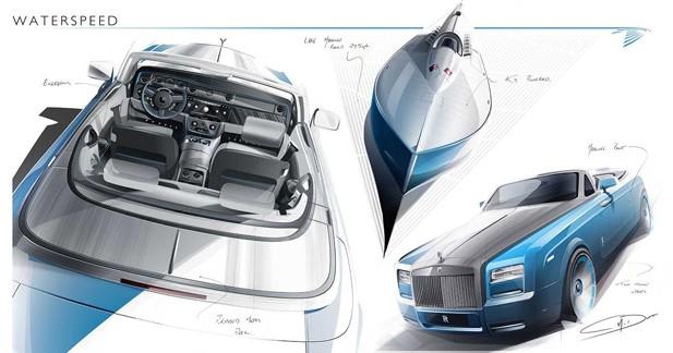 Rolls Royce Phantom Drophead Coupé : une ''Waterspeed Collection''