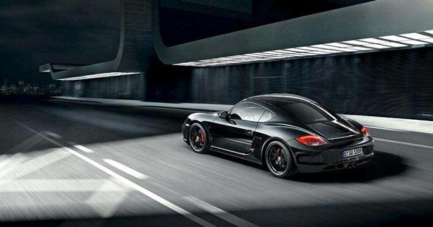 Black Edition : la série noire continue chez Porsche avec la Cayman S