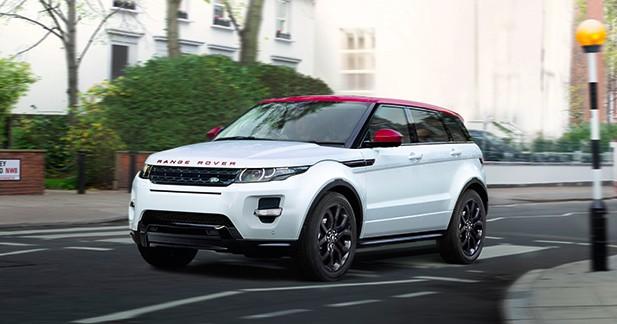 Land Rover présente la série limitée British Edition 2 du Range Rover Evoque