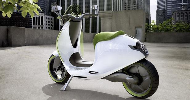 smart lancera son scooter lectrique en 2014. Black Bedroom Furniture Sets. Home Design Ideas