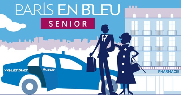 Les Taxis Bleus lancent une carte Seniors