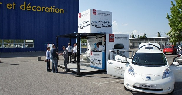 Nissan Electrique Tour : l'initiative de Nissan pour le tout électrique