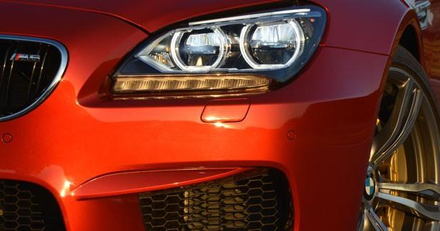 Des freins en céramique sur la nouvelle BMW M6