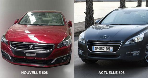 La nouvelle Peugeot 508 fuite sur internet
