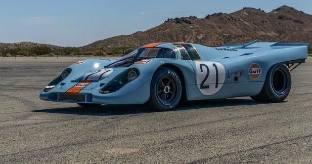 Une Porsche 917 renaît de ses cendres après 44 ans de sommeil