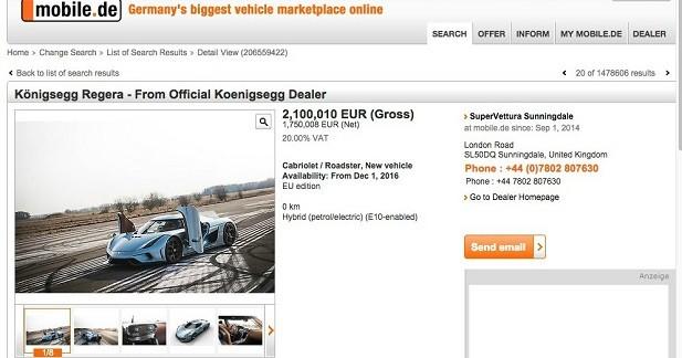 Le prix de deux Porsche 918 Spyder