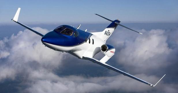 Premier vol de certification pour le Jet de Honda