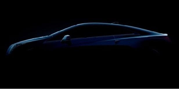 La Cadillac ELR attendue au salon de Detroit