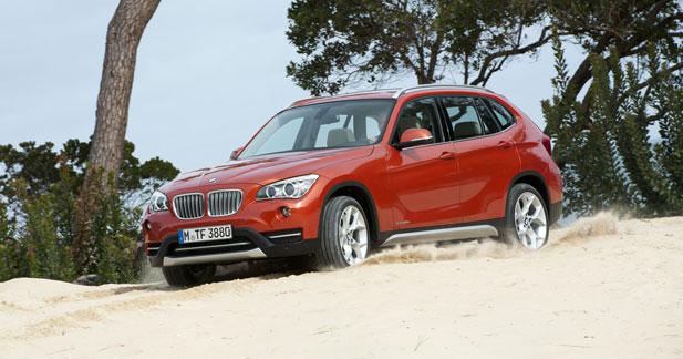 Le mode Eco Pro arrive sur le BMW X1