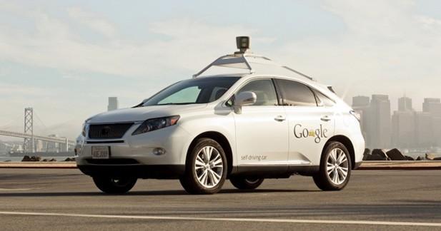Des Google Car impliquées dans des accidents de la route