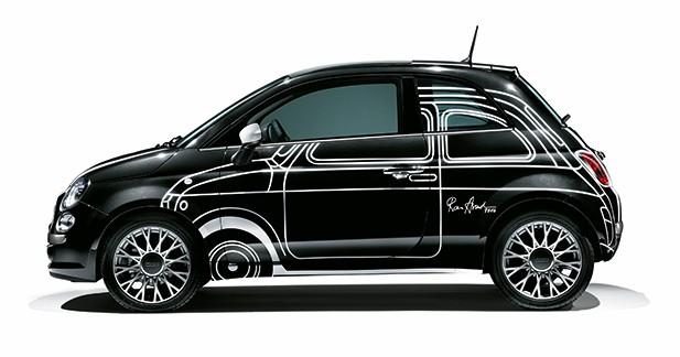 La Fiat 500 Ron Arad Edition en vente sur Showroomprivé