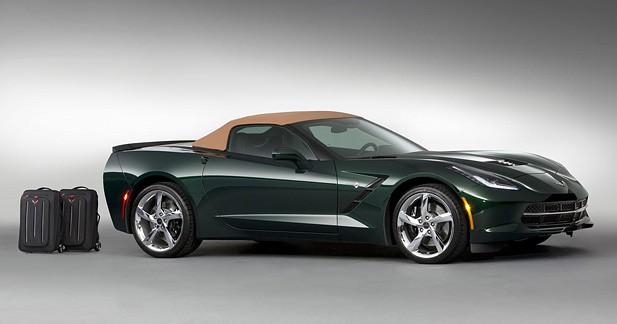 La Corvette Stingray Cabriolet arrive en édition limitée Premiere Edition