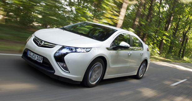 Et pourquoi pas une Opel Ampera au GPL ?