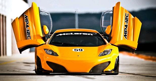 McLaren MP4-12C GT3 : la McLaren ultime