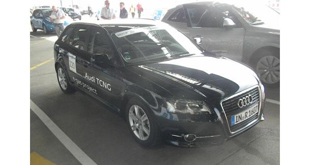 Première sortie pour l'Audi A3 TCNG à Berlin