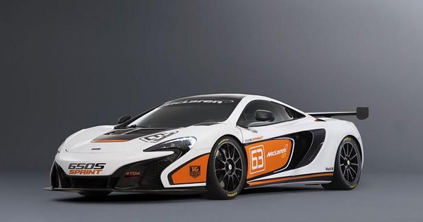 McLaren présentera la 650S Sprint à Pebble Beach