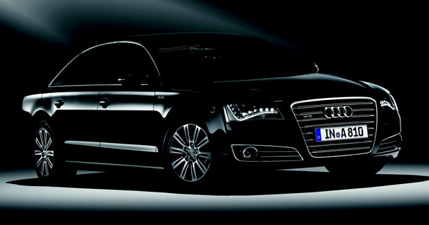 Audi A8 L blindée : à l'épreuve des balles