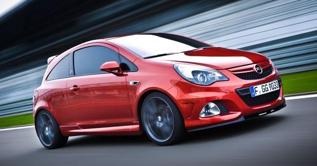 Opel Corsa OPC ''Nürburgring Edition'' : 210 ch et un autobloquant