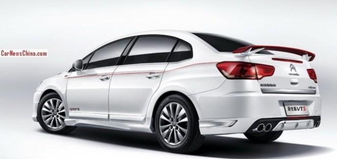 La Chine aura sa propre Citroën C-Quatre VTS