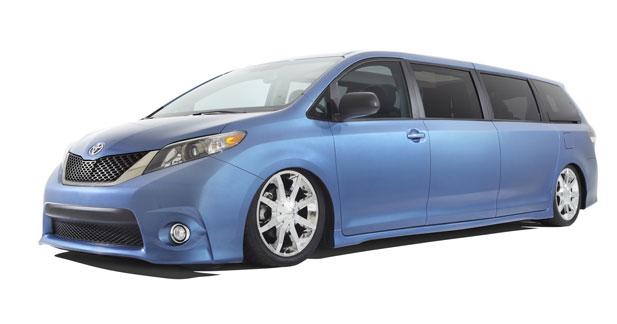 Swagger Wagon : un minivan version luxe chez Toyota
