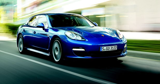 La Porsche Panamera hybride fait dans la sobriété