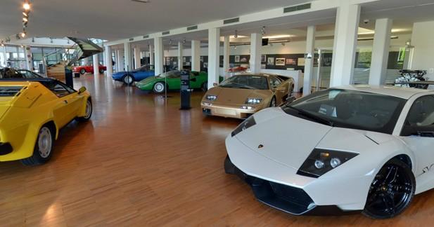 Une visite virtuelle du musée Lamborghini offerte par Google