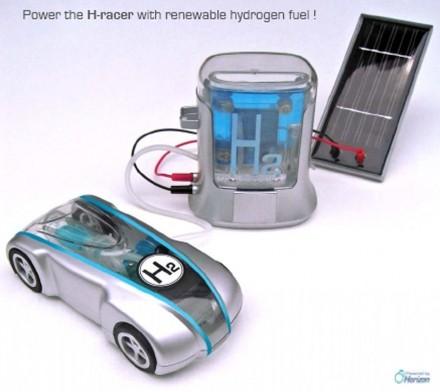une voiture hydrog ne pour no l. Black Bedroom Furniture Sets. Home Design Ideas