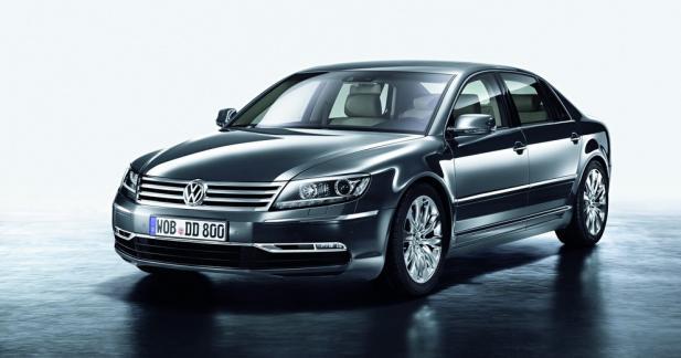 La future Volkswagen Phaeton sera 100% électrique