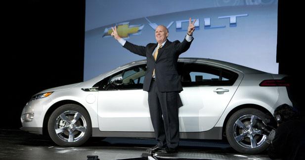 La prochaine Chevrolet Volt sera plus légère et moins chère