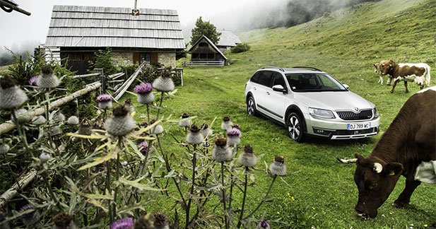 Skoda : belle progression des ventes
