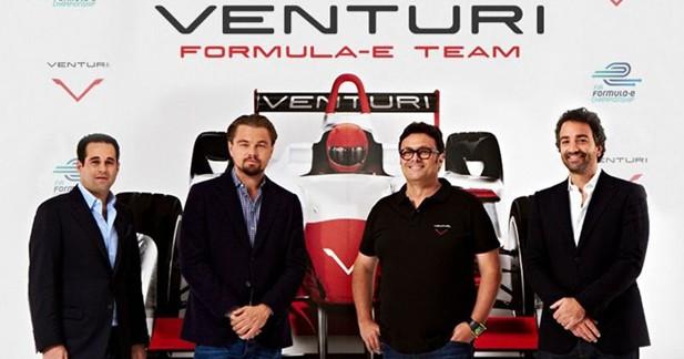 Venturi et Leonardo DiCaprio roulent pour la monoplace électrique