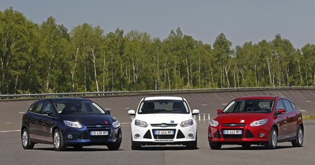 Ford Focus : un demi million d'exemplaires vendus en 2012