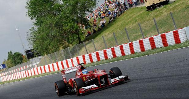 Alonso s'impose en Espagne avec sa Ferrari