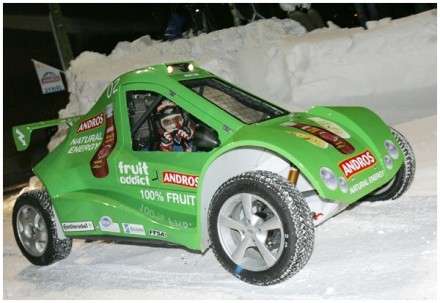 Victoire d'une voiture électrique au Trophée Andros !