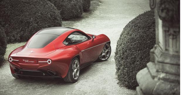 L'Alfa Disco Volante à la Villa d'Este (nouvelles images)