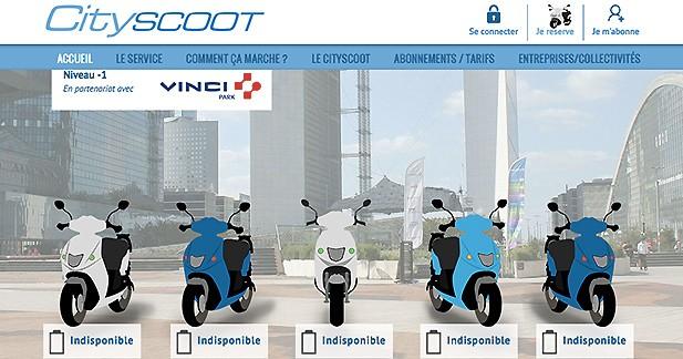 Bientôt des scooters électriques en libre-service dans les parkings VINCI