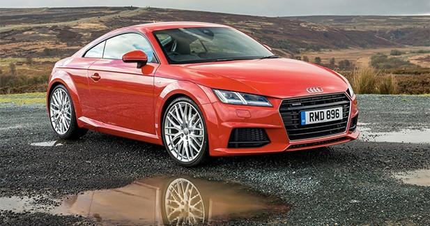 L'Audi TT attire les regards