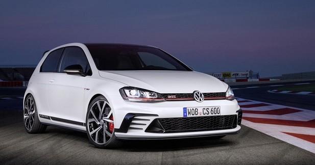 Volkswagen lance la Golf GTI Clubsport de 265 ch