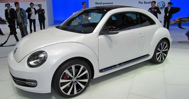 Nouvelle Volkswagen Beetle : une Beetle plus sportive