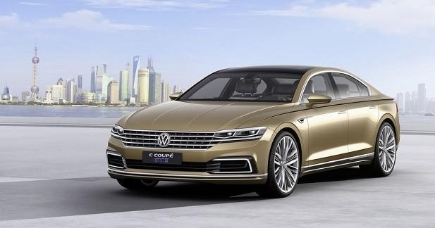 Volkswagen C Coupé GTE: la future Phaeton en filigrane